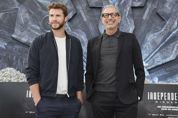 Steal His Look: Jeff Goldblum and Liam Hemsworth