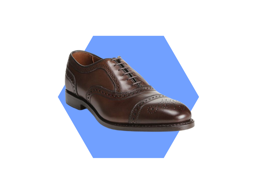 men's brown dress shoe