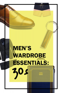wardrobe essentials for your 30s