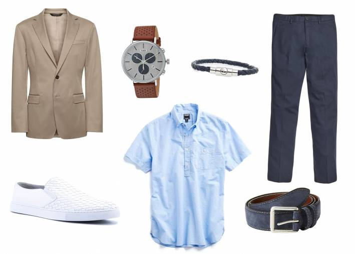 5 days 5 ways how to wear a popover shirt style girlfriend for Banana republic torino