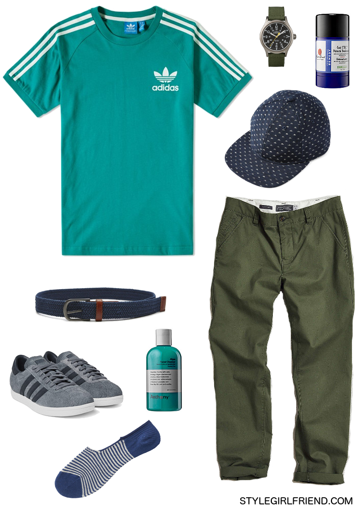 how to wear teal, men's style, teal outfit, teal pockets square, men's office wardrobe, teal t-shirt, men's summer style