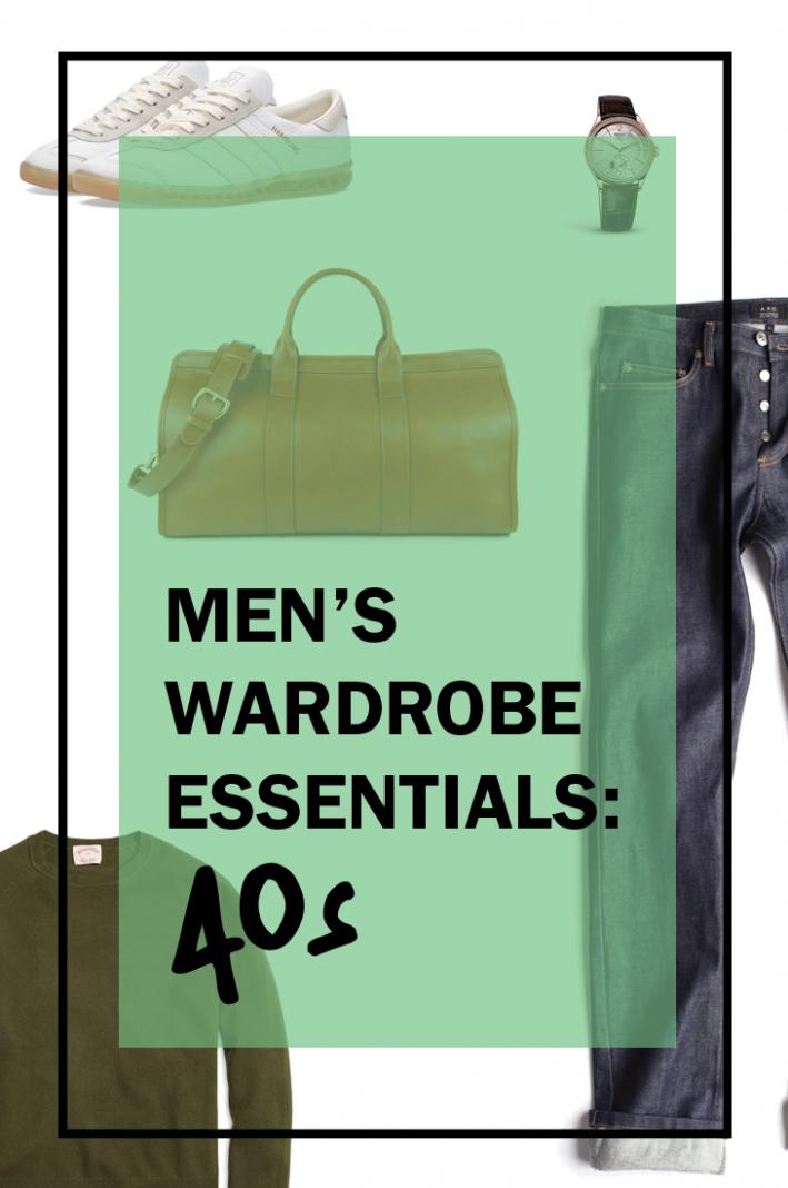 Men S Wardrobe Essentials For Your 40s Style Girlfriend