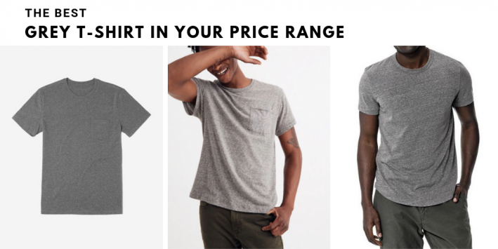 best grey tshirt for guys