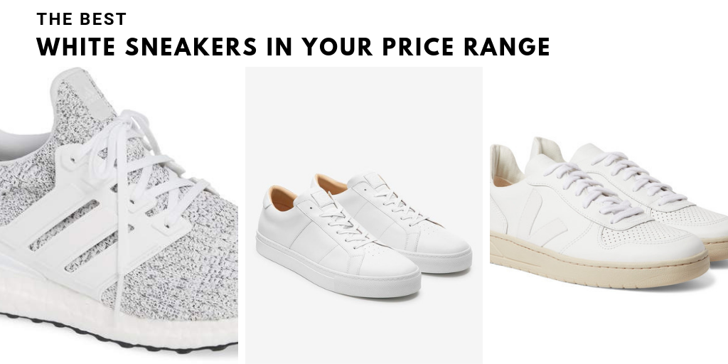 best white sneakers for guys