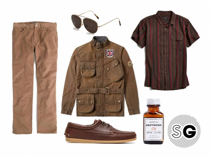 cords outfits for men