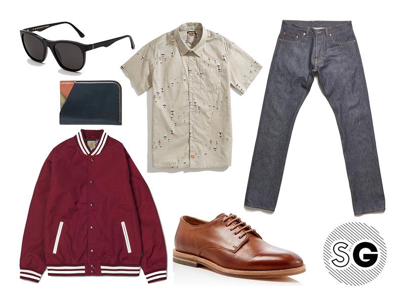 bomber, norman porter, retrosuperfuture, derby shoes,