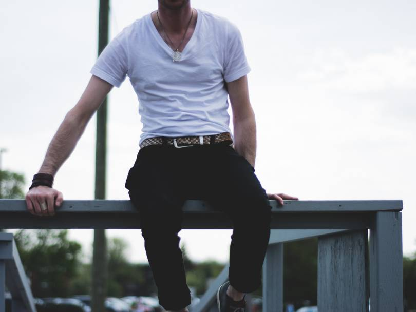 Men's Wardrobe Essential: White T-Shirt