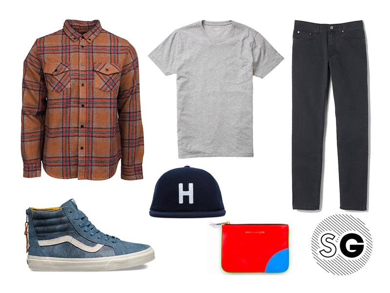 plaid, flannel, casual, skate, huf, vans, acne studios, bonobos, united by blue
