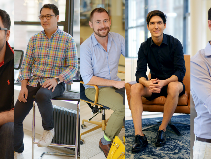 Office Style: The Guys of Homepolish