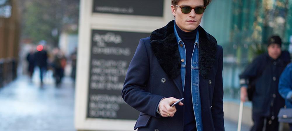 menswear fashion week, street style, male model street style, sunglasses street style men,