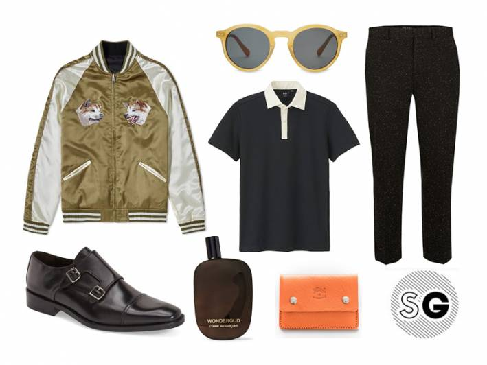 fall trends, gucci, souvenir jacket, theory, uniqlo, comme des garcons