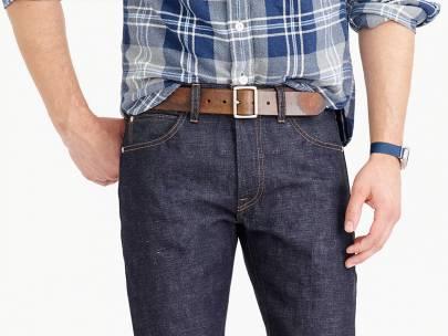 Men's Wardrobe Essential: Brown Casual Belt