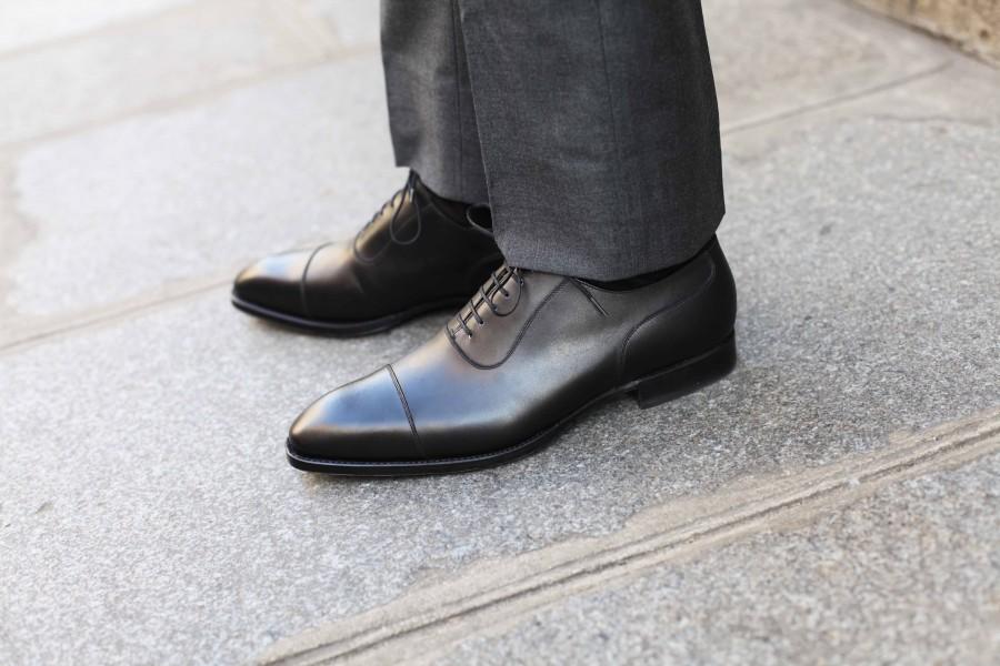 black cap toe shoes, footwear men, black dress shoes men,
