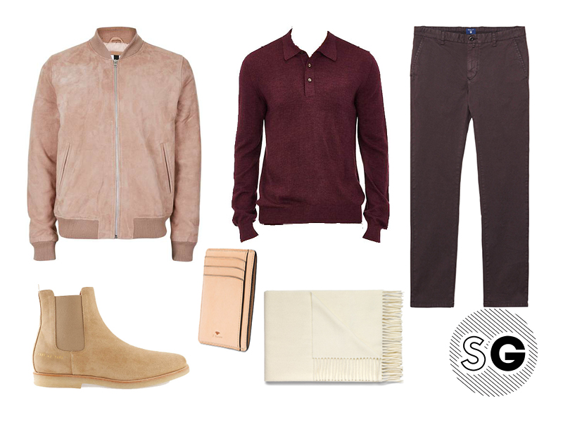 sweater, polo, bomber, chinos, topman, gant