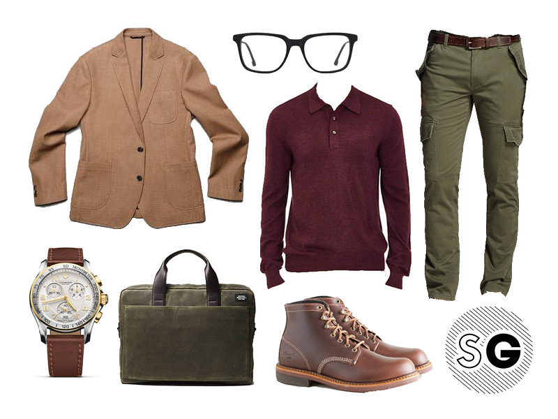 cargo, unstructured jacket, casual suiting, high low, target, brooklyn tailors, jack spade, polo, sweater