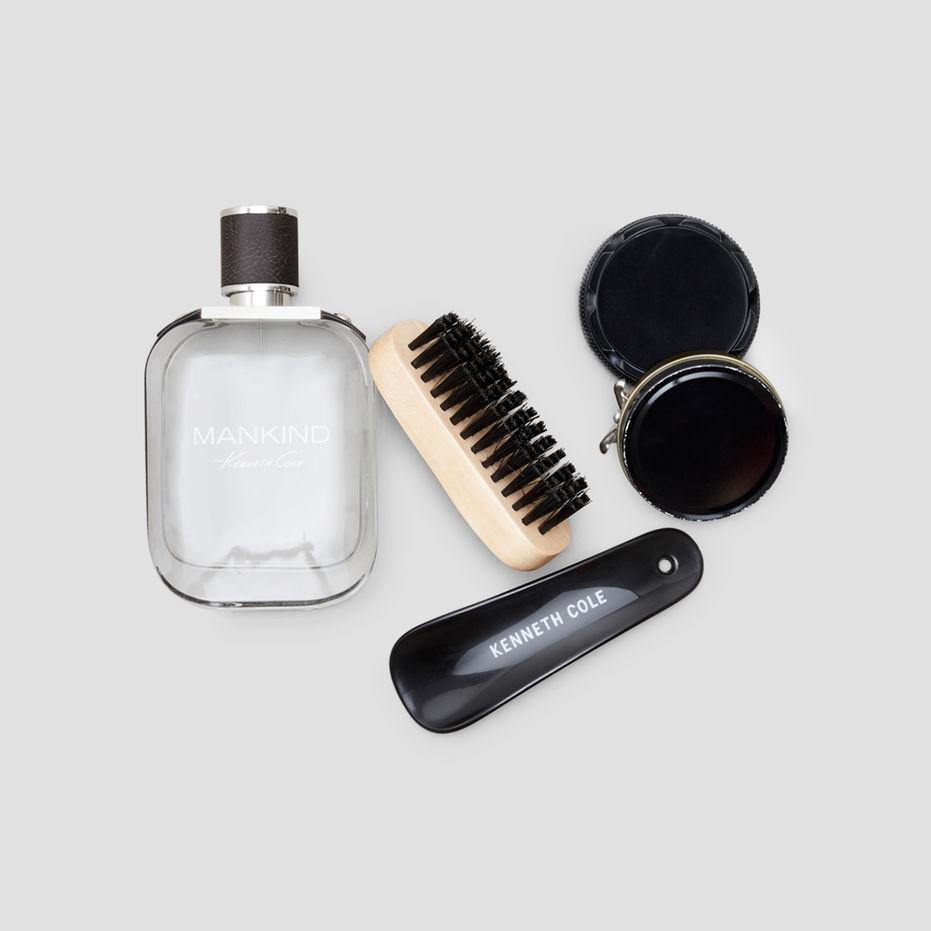 Mankind fragrance and shoe shine kit