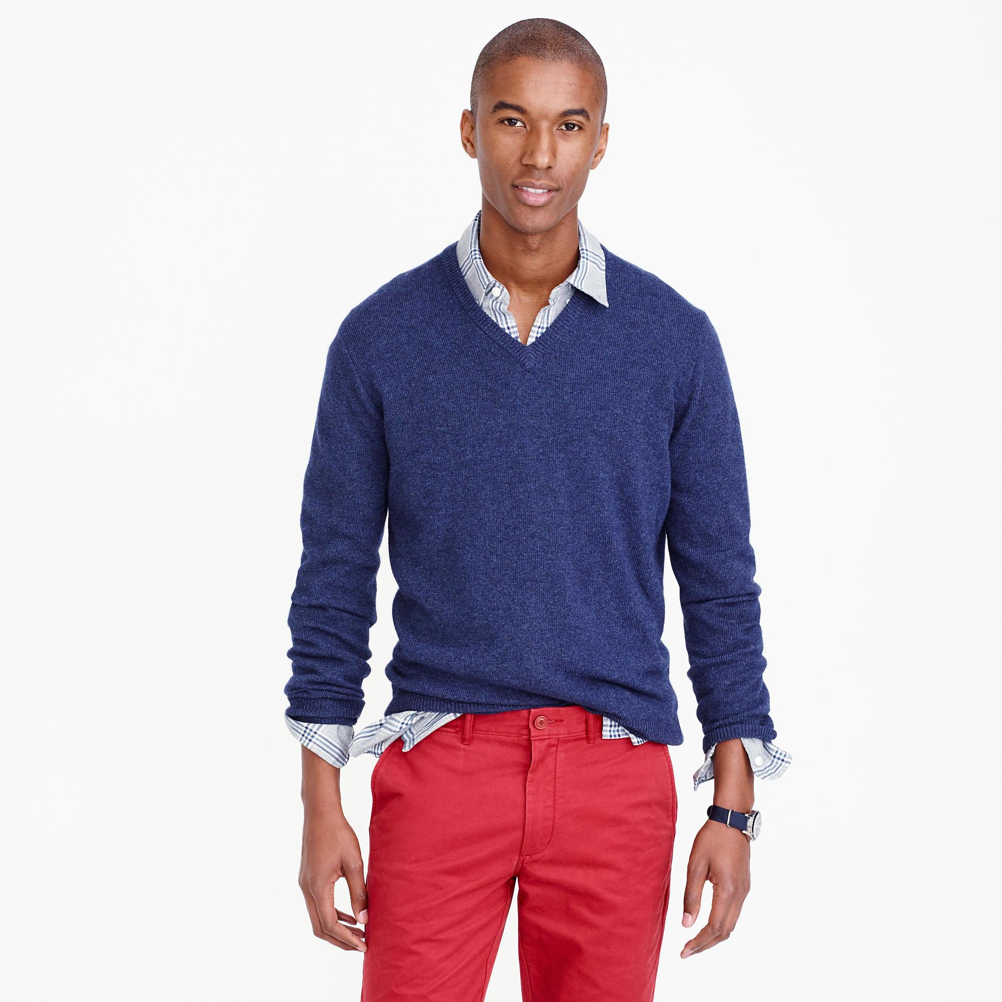 5 Days 5 Ways Cashmere V Neck Sweater Style Girlfriend