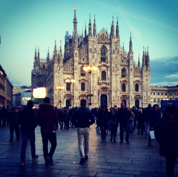 milan italy, ashley grillo