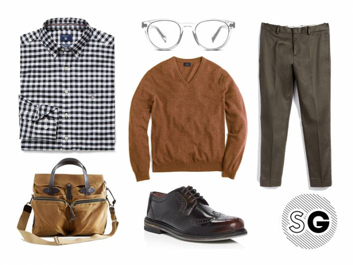 cashmere v-neck sweater, vneck, ted baker, warby parker, gant, acne studios, filson