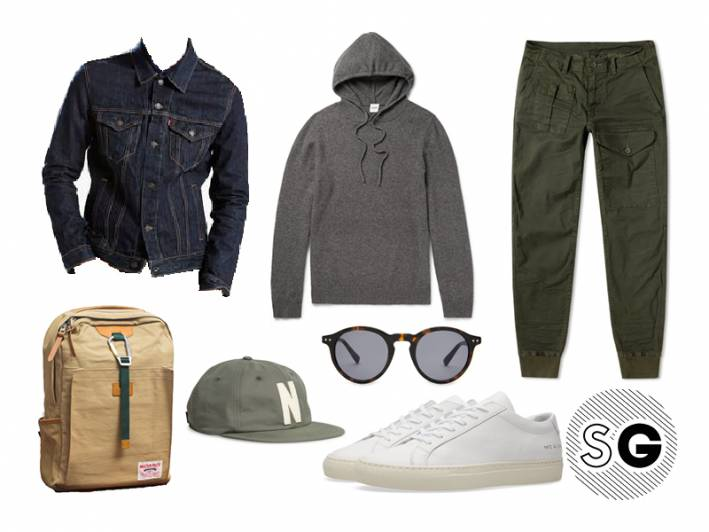 hoodie, joggers, ralph lauren, cargo, common projects, master-piece, norse projects, whistles, levis, school, college