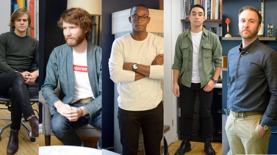 Office Style: The Guys of Gear Patrol