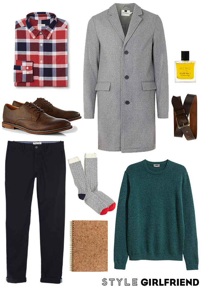 comfortable work outfit men, navy chinos men