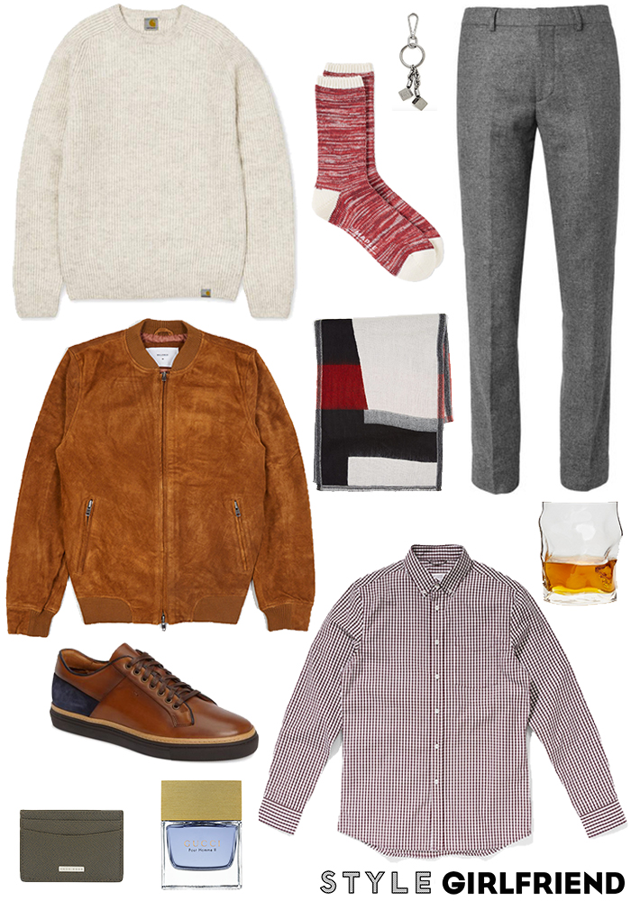 Winter Date Night Outfit for Men | Style Girlfriend