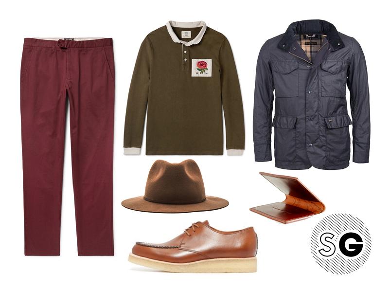 field jacket, waterproof, spring, winter, barbour, todd snyder, clarks, brixton, first settlement goods,