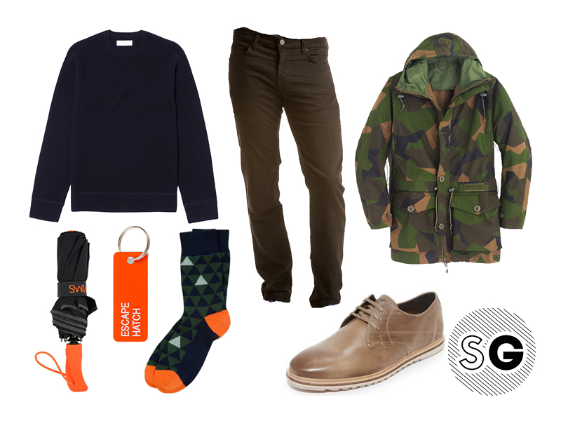 french terry, french terry jeans, jbrand, j.crew, jack spade, various keytags, kirkland 1883, everlane, camo, pair of thieves, swims,