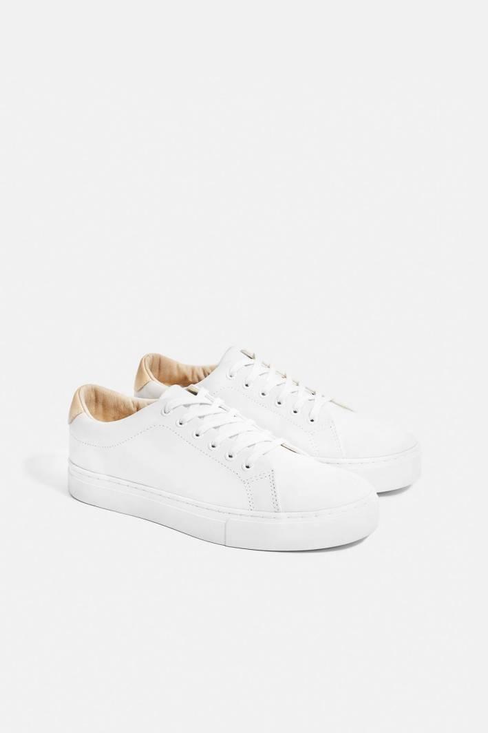 derek leather sneakers