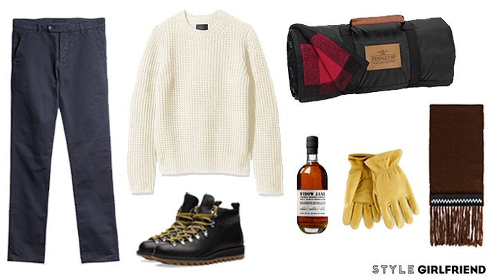 hot chocolate break outfit