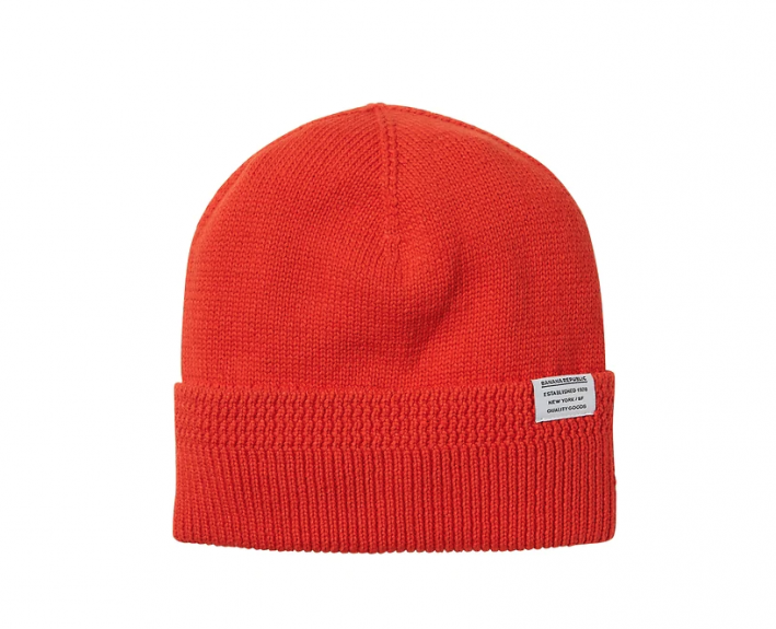 red beanie for men winter style