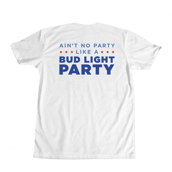 bud light t shirt