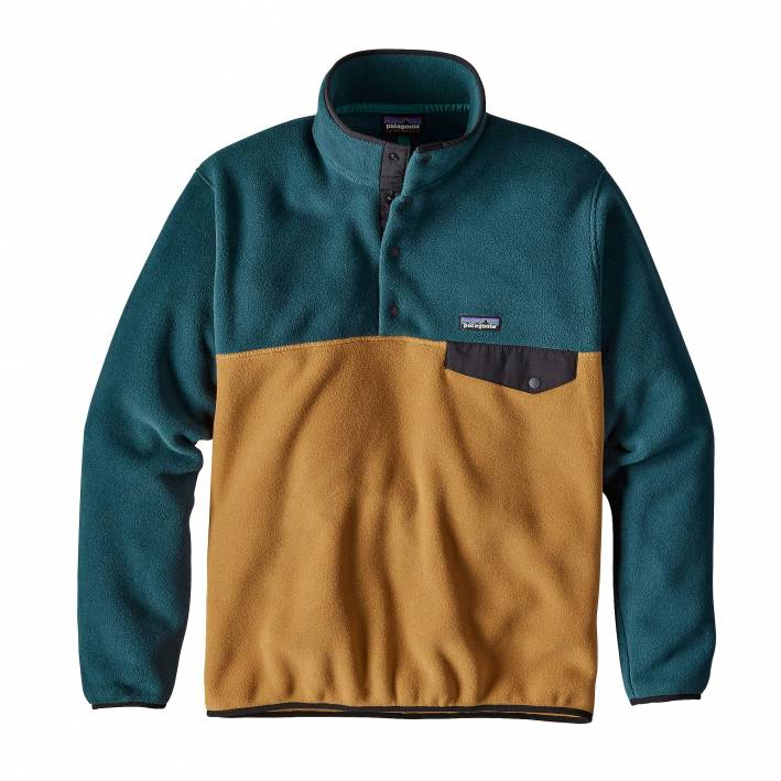 fleece pullover, patagonia