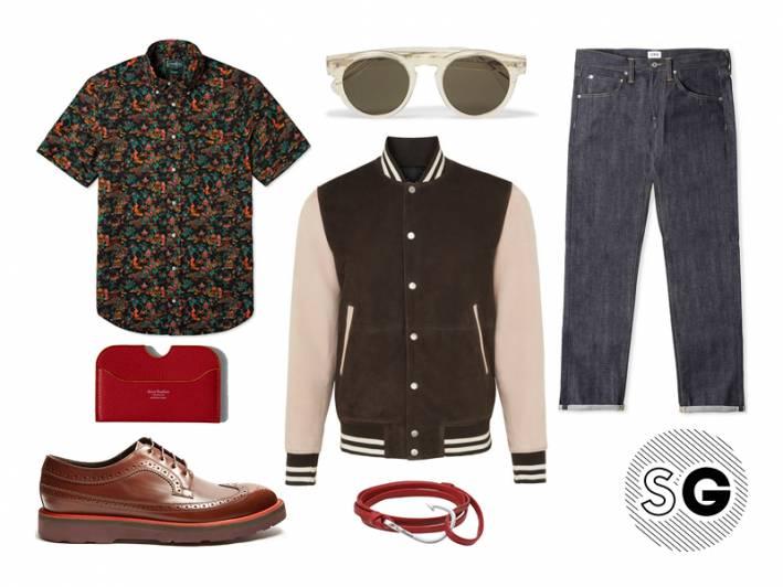 contrast sole shoes, edwin, denim, illesteva, gitman vintage, whistles, acne studios, miansai, paul smith