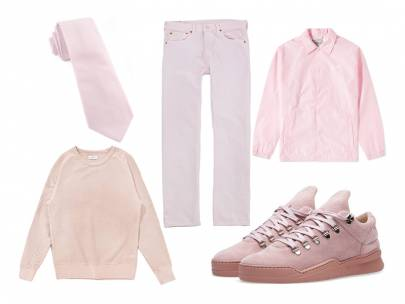 How to Wear Millennial Pink: A Style Primer for Guys