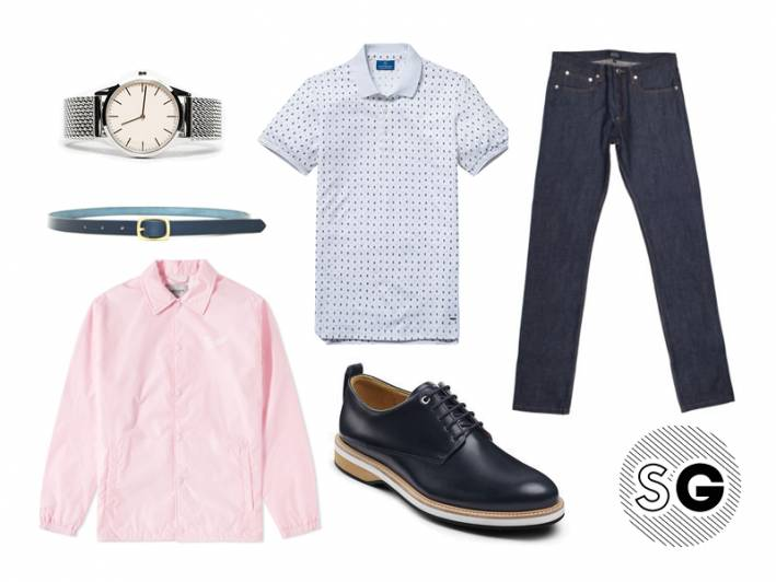 millenial pink, carhartt wip, uniform wares, want les essentiels, apc, scotch & soda, maximum henry