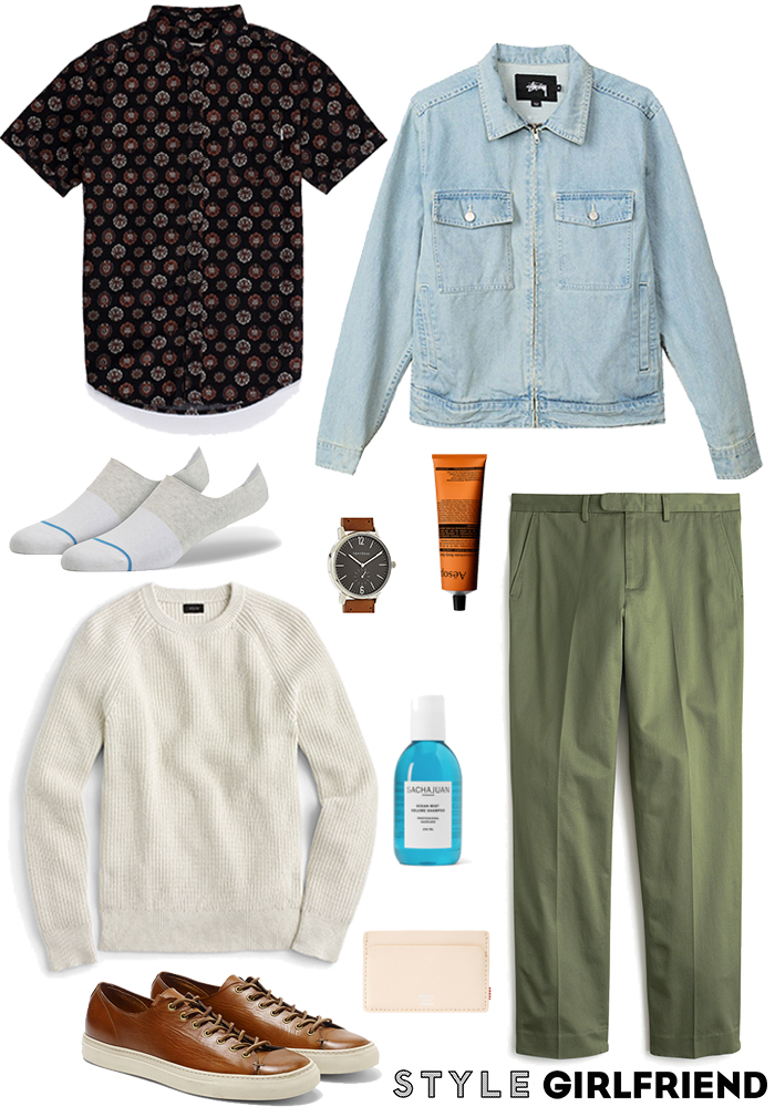 Look We Love: Museum Date Outfit For Men