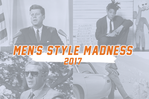 Kicking off Style Girlfriend Men's Style Madness 2017