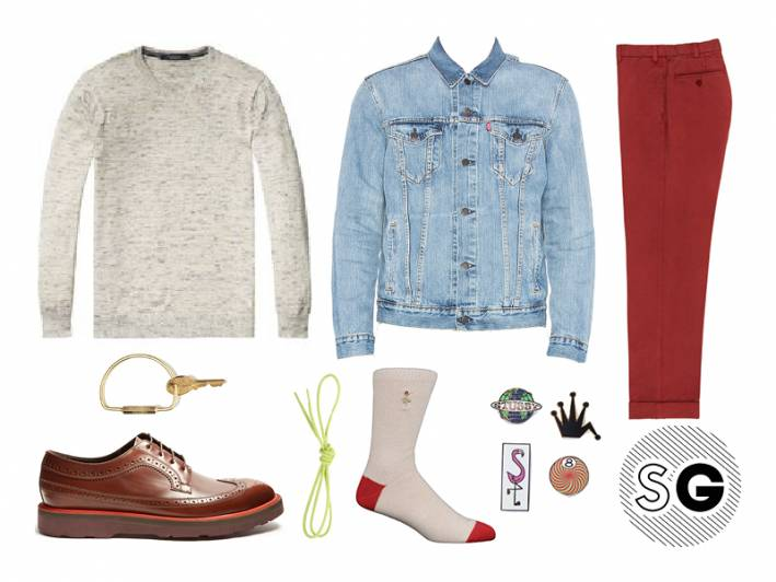 contrast sole shoes, levi's, scotch & soda, stussy, anonymousism, paul smith, need supply, sid mashburn