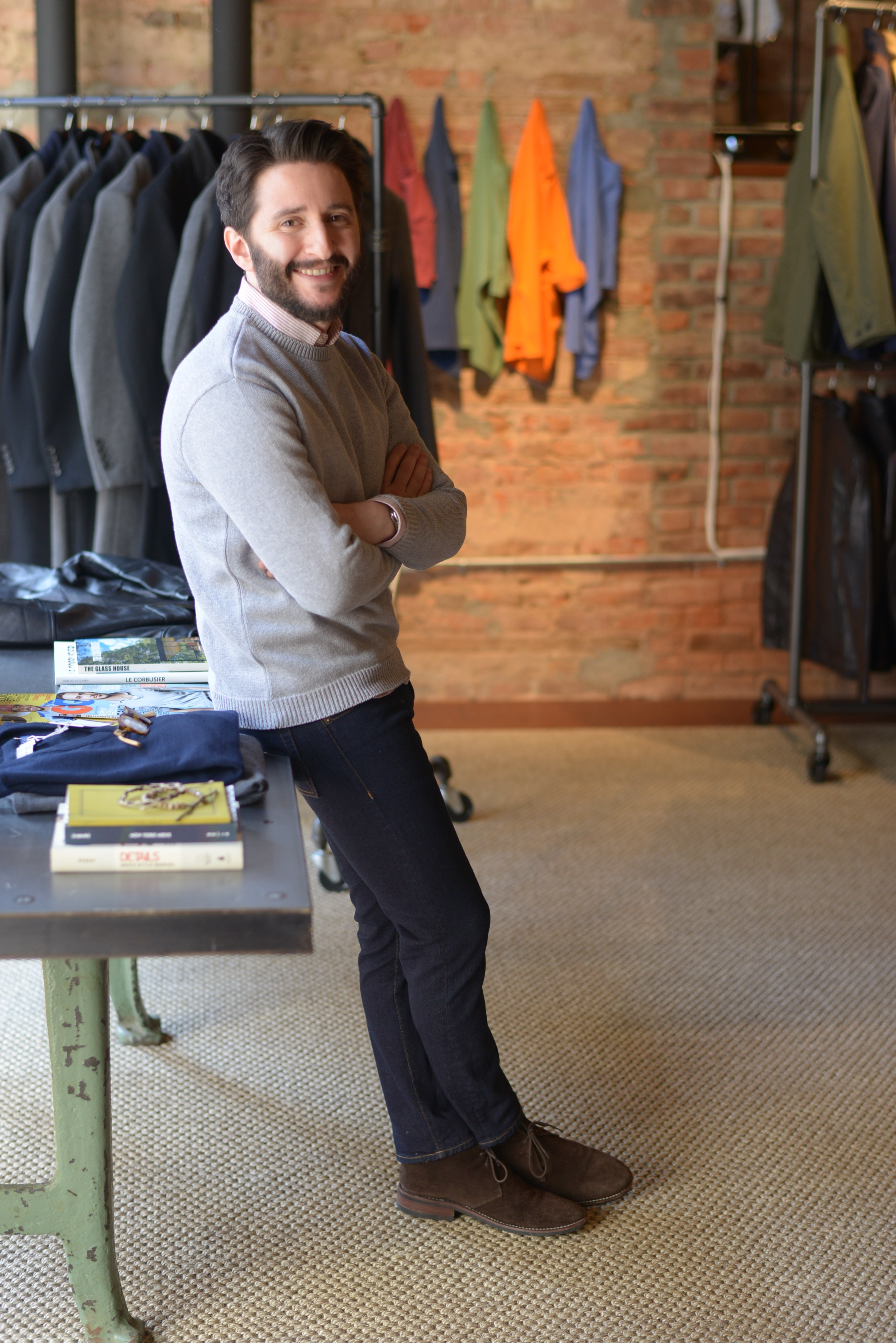 peter manning nyc, shorter men style