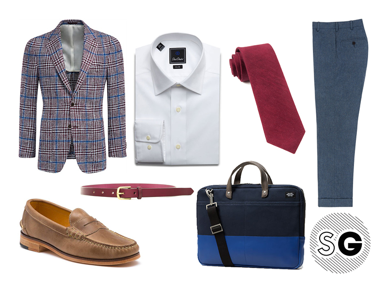 checked blazer, check blazer, suit supply, sport coat, jack spade, david donahue, tie bar, sid mashburn, bass, maximum henry