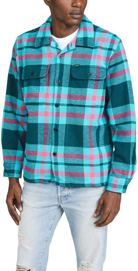 obey plaid jacket