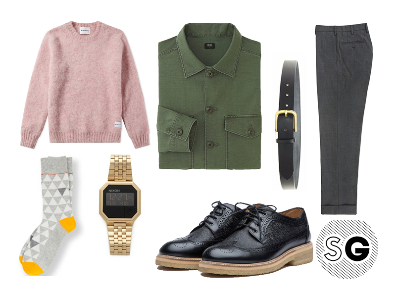 work shirt, overshirt, casual office style