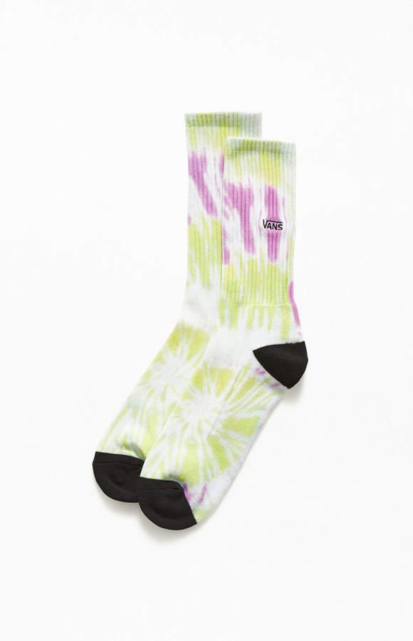 vans tie dye socks
