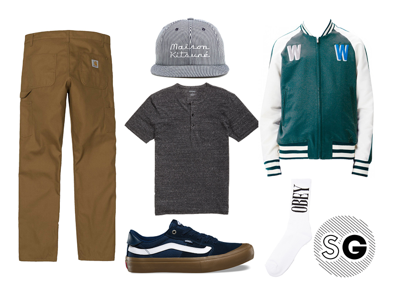 what to wear with carhartt workwear pants