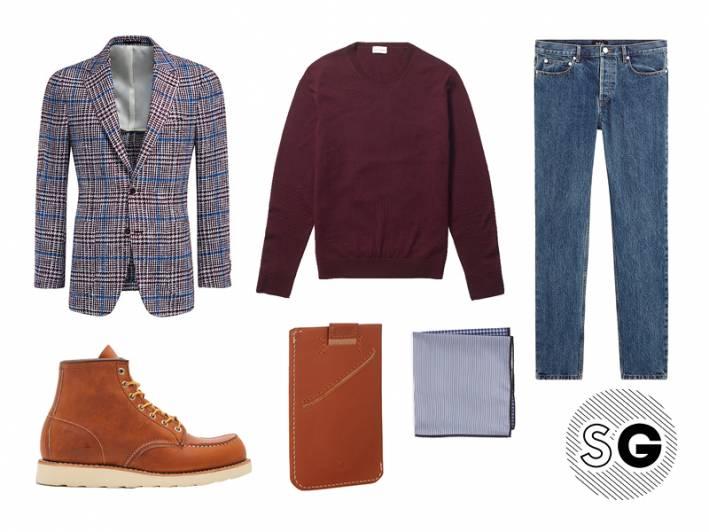 sport coat, blazer, checked blazer, club monaco, bellroy, nordstrom