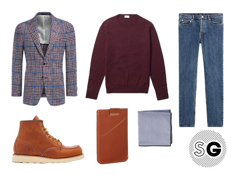 sport coat, blazer, checked blazer, club monaco, bellroy, nordstrom