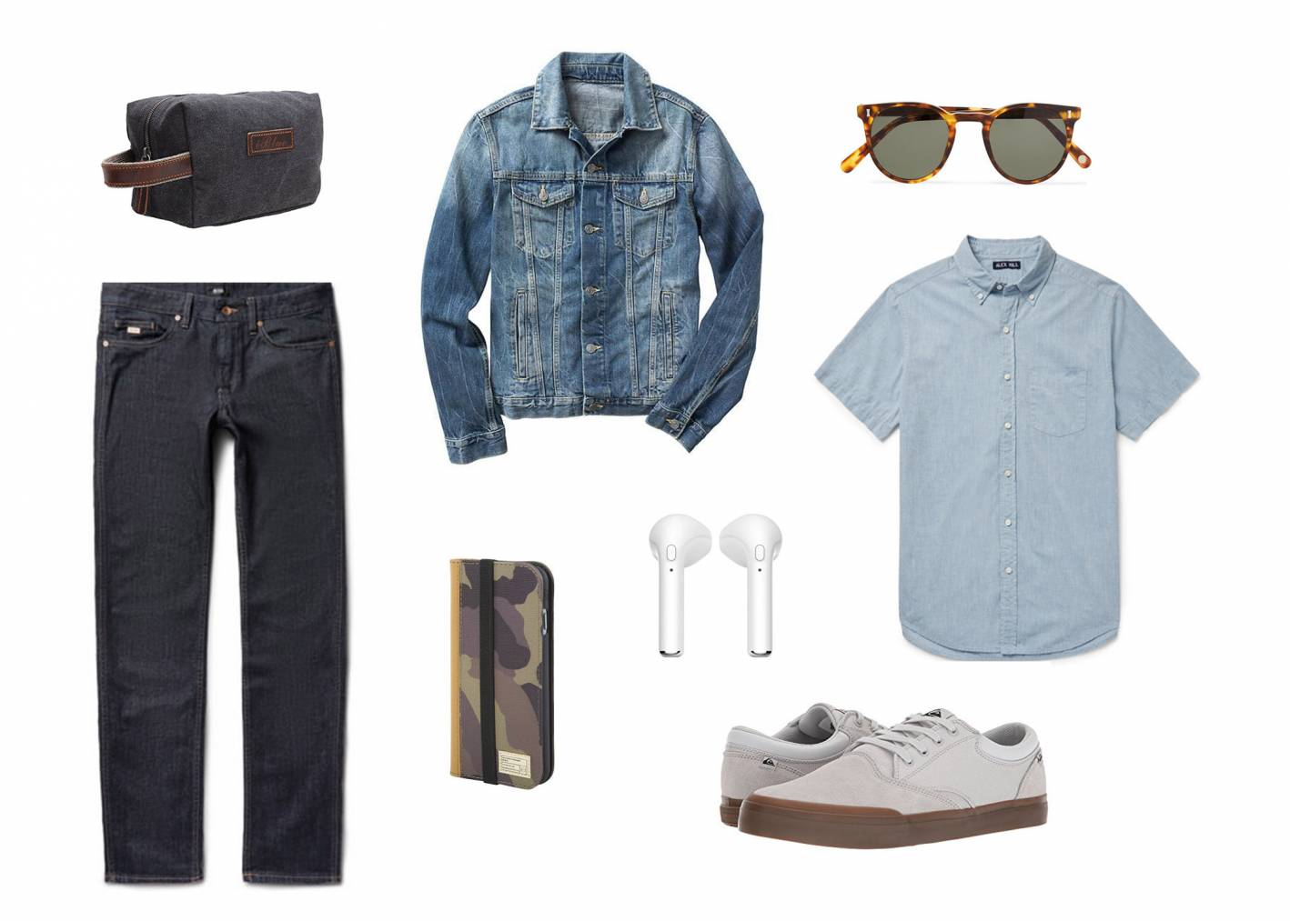 guys travel outfit inspiration