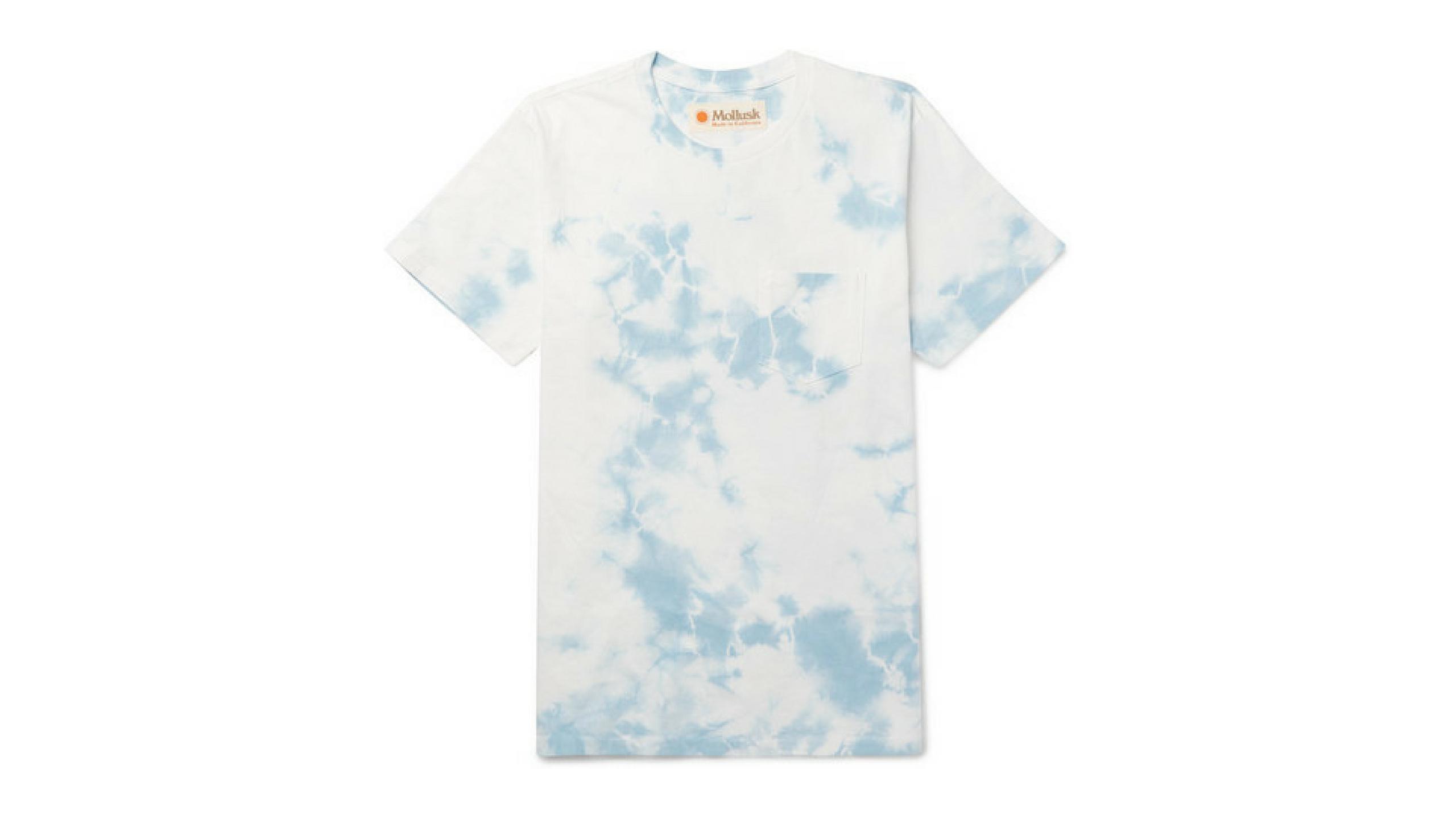 mollusk tie dye t-shirt